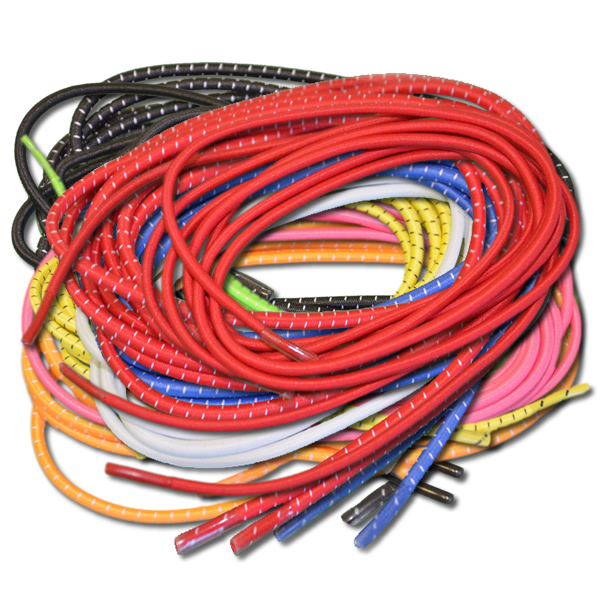 O2 Creation E-Lace Elastic Shoe Laces with Stoppers